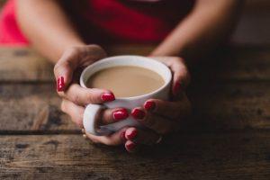 kava, šalica, zona komfora, žena