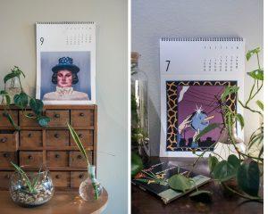 ilustracije, djelovanje, udruga krijesnica, ilustracije, oni kalendar