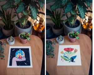 botaničar, djelovanje, vanja varga, ilustracija, udruga krijesnica, oni kalendar