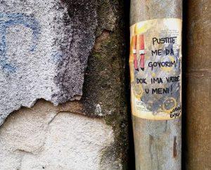 lutajuća knjiga, antonella šantek, umjetnost, ulična umjetnost