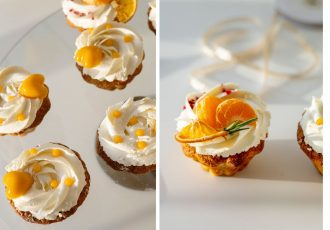 cupcakes, naranča, recept