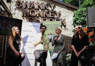animafest, swanky monkey garden