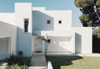 arhitektura, bijela boja, boja koja hladi zgradu